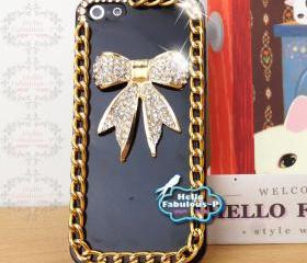 iPhone 5 Case Cell Phone Case Cover Bling Cover Studded iPhone Case Plastic Cover Personalized Samsung Galaxy Case